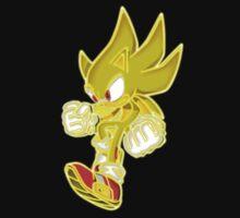 Neon Super Sonic by LegendDestroye