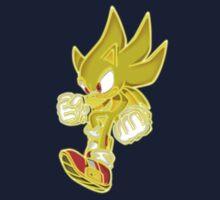 Neon Super Sonic Kids Tee