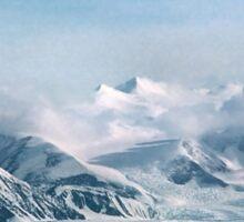 Transantarctic Range, Victoria Land, Antarctica Sticker