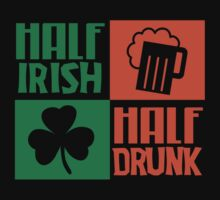 Half irish - Half drunk by nektarinchen