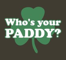 St. Patrick's day: Who's your paddy by nektarinchen