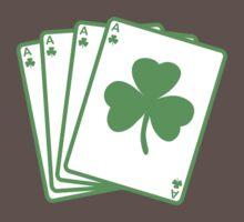 St. Patrick's day: Poker One Piece - Short Sleeve