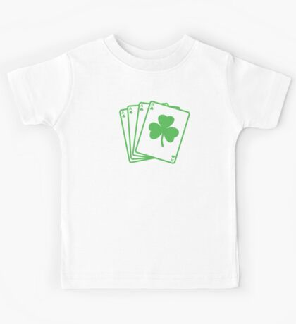 St. Patrick's day: Poker Kids Tee