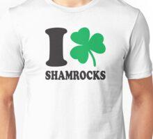 St. Patrick's day: I love shamrocks Unisex T-Shirt