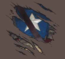 The First Avenger - Tear Tee by lainefirth