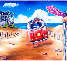 City 2 Surf by debbroughtonart