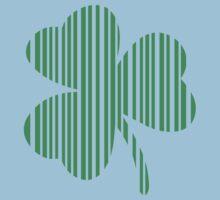 St. Patrick's day: Shamrock Barcode Kids Clothes