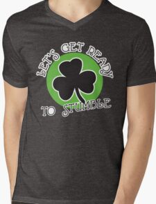 St. Patrick's day: Let's get ready to stumble Mens V-Neck T-Shirt