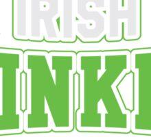 St. Patrick's day: Irish drinking team Sticker