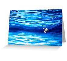 Tru Blu Greeting Card