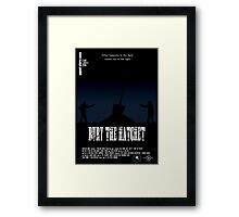Bury The Hatchet Framed Print