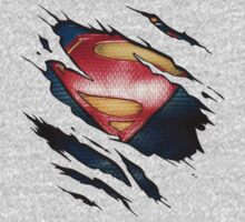 Man Of Steel - Tear Tee by lainefirth
