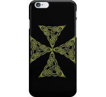 "Lindisfarne ""St John's Knot"" Grunge iPhone Case/Skin"