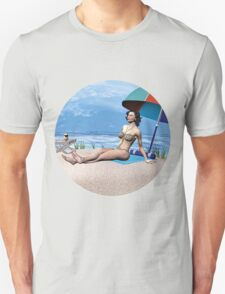 Girl under the Sun Unisex T-Shirt