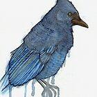 Sky Blue - Steller's Jay by Bluecrow10