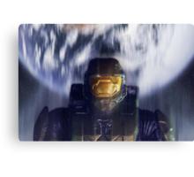 Master chief John-117 Halo Spartan Canvas Print