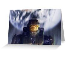 Master chief John-117 Halo Spartan Greeting Card