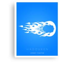 Hadouken Minima Canvas Print