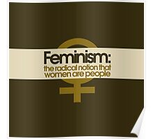 Feminism Defined Poster
