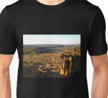 View to the Barrier Ranges from the Living Desert Reserve Unisex T-Shirt