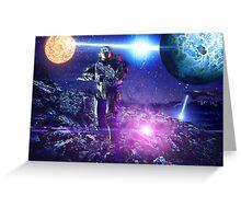 Master chief John-117 Halo rings Spartan  Greeting Card