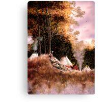 Hunt Camp Evening Canvas Print