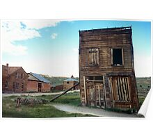 Old Bodie Building Poster