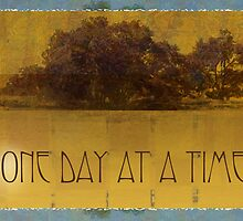 One Day at a Time Oaks by Lake by serenitygifts