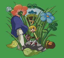 Legend of Zelda: Minish Cap by Zelbunnii