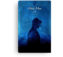 Mad Man With a Box Canvas Print