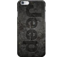 Jeep rock logo iPhone Case/Skin