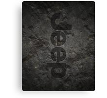 Jeep rock logo Canvas Print
