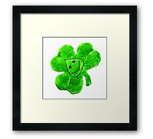 Funny Irish Shamrock Framed Print