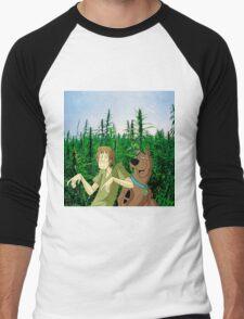 Scooby Do & Shaggy smokes too Men's Baseball ¾ T-Shirt