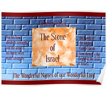 The Stone of Israel Poster