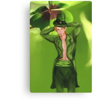 Irish Leprechaun Canvas Print