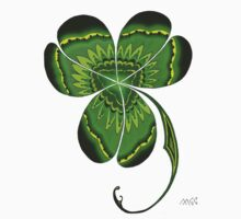 St. Patrick's Day Irish Clover Shamrock  by wildwildwest