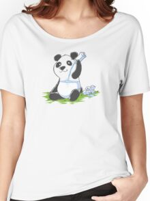 Panda in My FILLings Women's Relaxed Fit T-Shirt