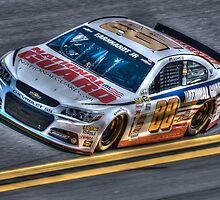 Dale Earnhardt Jr, Daytona 500 by Tyler  Graaf