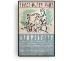 Fallout Super-Duper Mart! Canvas Print