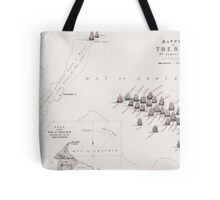 Plan of the Battle of the Nile Tote Bag