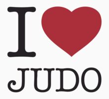 I ♥ JUDO Kids Clothes