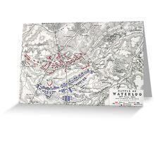 Battle of Waterloo Greeting Card