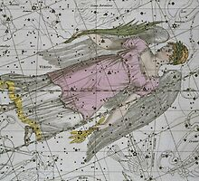 Virgo, from A Celestial Atlas by Bridgeman Art Library