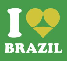I Love Brazil by capitaldesign