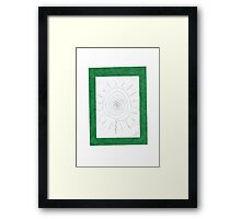 0902 - Green And Sweet Framed Print