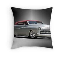 1950 Mercury with a Carson Top Throw Pillow