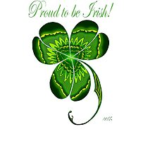 Proud to be Irish Clover  by wildwildwest