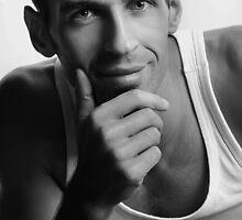 Handsome man by conrrado