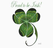 Proud to be Irish Clover  Kids Clothes